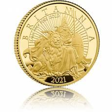 Goldmünze 1/4 oz Britannia PP 2021