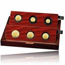 6 Coin-Set Britannia PP Gold 2021