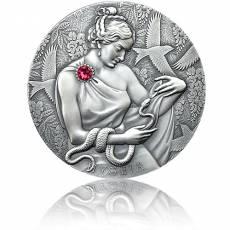 Silbermünze 2 oz Hygeia Göttin der Gesundheit 2021