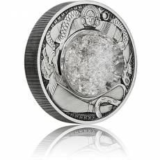 2 Unzen Silbermünze Tränen des Mondes Antik Finish 2021