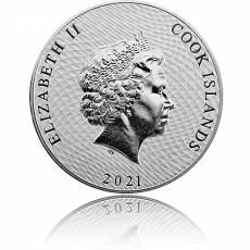 Silbermünze 1 oz Bounty - William Bligh 2021