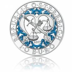 10 Euro Silbermünze Himmlische Boten Michael – Der Schutzengel PP 2017