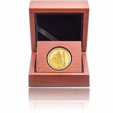 Goldmünze 1/4 oz Der Herr der Ringe - Gandalf PP 2. Ausgabe 2021