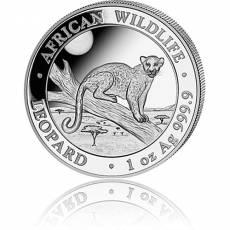 1 Unze Silbermünze Somalia African Wildlife Leopard 2021