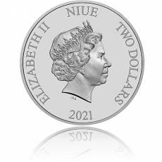 Silbermünze 1 oz Fluch der Karibik The Black Pearl 1. Ausgabe 2021