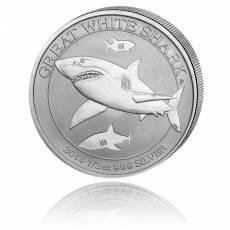 Weißer Hai Australien 1/2 Unze Silber (2014)