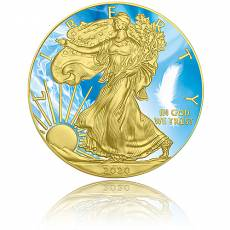 Silbermünze 1 oz American Eagle 4 Elemente - Luft 2021