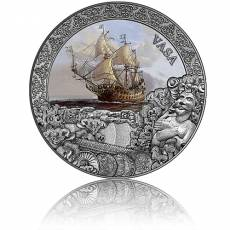 Silbermünze 2 oz Shipwrecks in History Vasa 2021