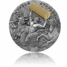 Silbermünze 2 oz Augean Stables Twelve Labours of Hercules 2021
