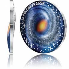 Silbermünze 20 Euro Faszination Universum Die Milchstrasse 2021