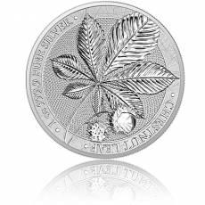 1 Unze Silber Chestnut - Kastanie Germania Mint 5 Mark 2021