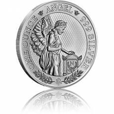 Silbermünze 1 Unze St. Helena Napoleon Angel 2021