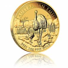 1 Unze Goldmünze Australien Perth Mint Emu 2021