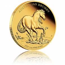 Goldmünze 1 oz Australian Brumby Proof 2021 (1. Ausgabe)