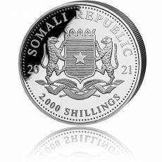 Silbermünze 1 kg Somalia Leopard 2021