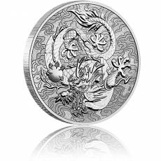 1 oz Silber Australien Perth Mint Chinese Myths and Legends - Dragon 2021