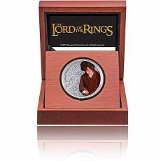 1 oz Silbermünze Der Herr der Ringe Classic - Frodo 3. Motiv 2021