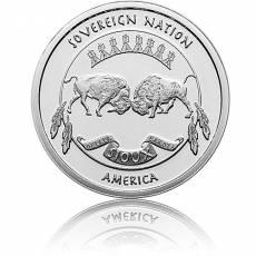 Silbermünze 1 oz Sioux Indian Chief 2021