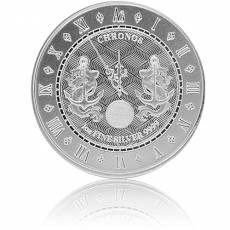 Silbermünze 1 oz Chronos Tokelau 2021