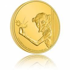 Goldmünze 1/4 oz Herry Potter - Dobby der Hauself PP 7. Ausgabe 2021