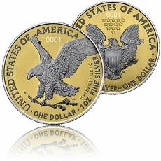 2 x 1 oz Silber American Eagle The New Heritage Exclusiv Edition 2021