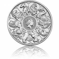 2 Unzen Silber Queens Beasts Completer Coin 2021