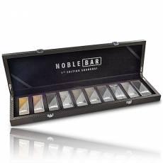 10 x 100 gramm Silber veredelt Noble Bar Spezial Edition 2020