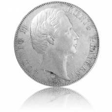 Silbermünze Vereinsthaler Bayern 1871 ss/vz