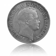 Silbermünze Thaler Preussen 1844 ss