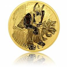 1 oz Gold Gods of Olympus Hades 2021
