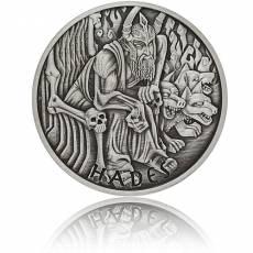 Silbermünze 1 oz Gods of Olympus Hades Antik Finish 2021