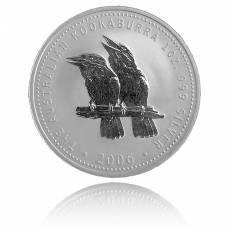 Austral. Kookaburra 1 Unze Silber (2006)