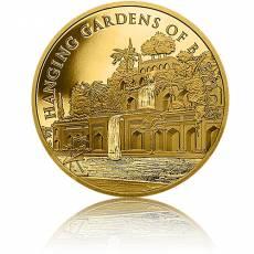 1 Unze Gold Round 7 Wunder der Antike Hängende Gärten von Babylon 2021