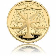 Goldmünze 1 oz Goldstandard 2021