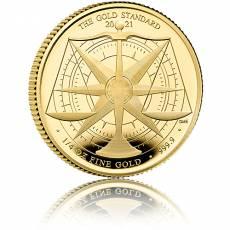 Goldmünze 1/4 oz Goldstandard 2021