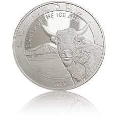 1 Unze Silbermünze Giganten der Eiszeit - Auerochse (2021)