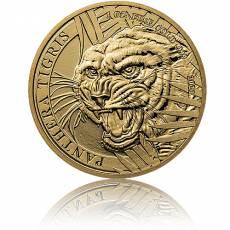Goldmünze 1 oz Laos Tiger 2021
