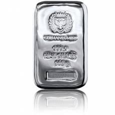 Silberbarren 100 gramm Germania Mint