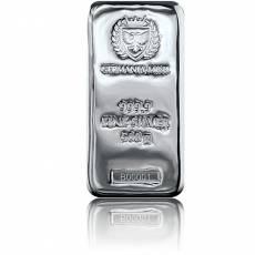 Silberbarren 500 gramm Germania Mint