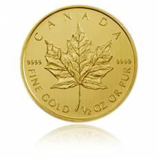 1/2 Unze Gold Maple Leaf (verschiedene Jahre)