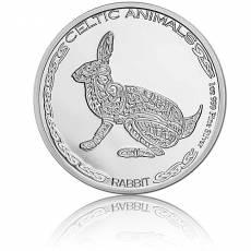 1 Unze Silbermünze Celtic Animals Rabbit 2021