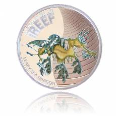 Sea Life Sea Dragon 1/2 Oz Silber + Box + Zertifikat