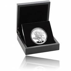 Silbermünze 1 oz Lunar Tiger UK PP 2022
