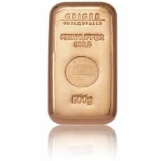 500 gramm Kupferbarren (verschiedene)
