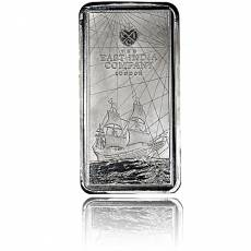 Münzbarren 10 oz Silber St. Helena The East India Company 2021