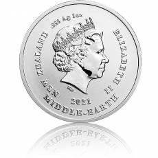 1 oz Silbermünze 20. Jubiläum - Der Herr der Ringe - Frodo 2021