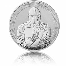 1 Unze Silbermünze Star Wars The Mandalorian - Mandalorian  2021