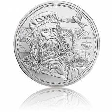 1 oz Silber Icons of Inspiration Leonardo da Vinci 2021