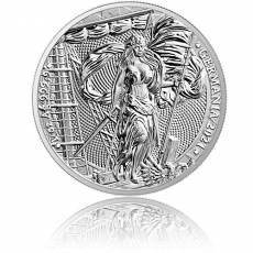 1 Unze Silber Germania 5 Mark 2021