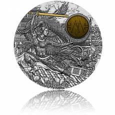 Silbermünze 2 oz Woman Warrior Mulan High Relief 2021